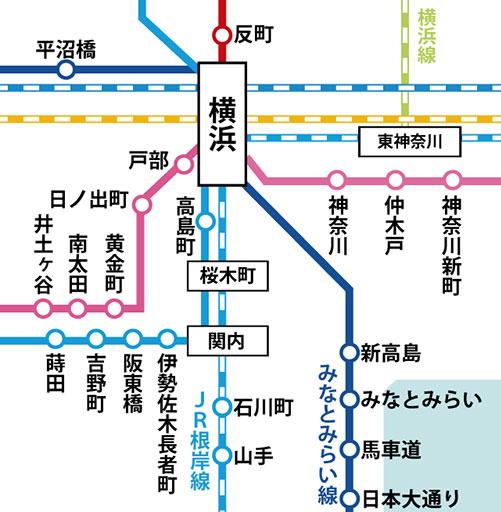 神奈川の主要ビジネスエリア