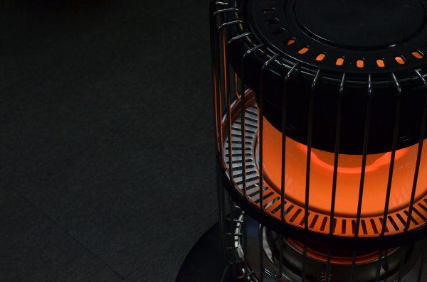 コワーキングスペースの暖房(イメージ)