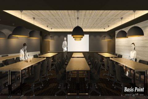 会議やイベントに上質な空間を。Basis Point Lab.2ndが新橋にNEW OPEN!